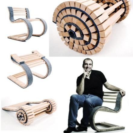 Cadeira para enrolar