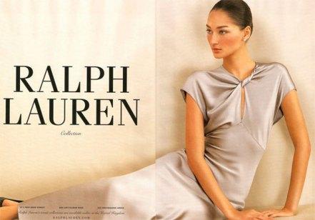 Bruna Tenório se tornou a garota da linha Collection da Ralph Lauren.