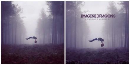 arte de capa do EP Continued Silence, da banda indie Imagine Dragons