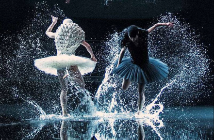 Swan Lake opened last night in Oslo, costumes by Henrik Vibskov...1