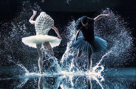 Swan Lake opened last night in Oslo, costumes by Henrik Vibskov...1