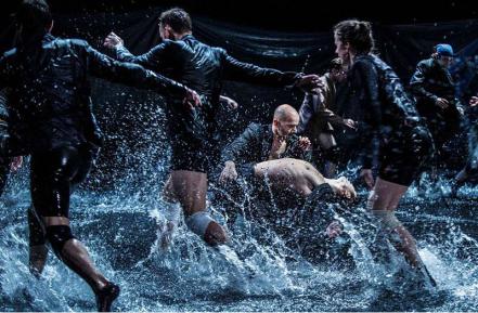 Swan Lake opened last night in Oslo, costumes by Henrik Vibskov...2